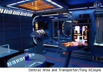 Tony Alleyne, trasnporter  console, star trek
