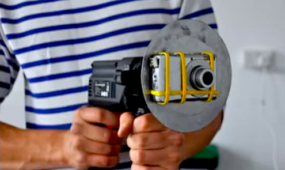 Artist Puts a Camera on a Spinning Drill to Capture Some Far Out Video
