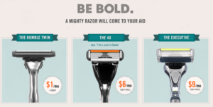The Dollar Shave Club – Get Monthly, Inexpensive Razors in the Mail