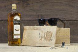 Shwood and Bushmills Team Up to Make Whiskey Barrel Sunglasses