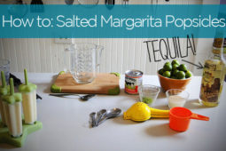 How to: Make Salted Margarita Cream Popsicles (with Tequila!)
