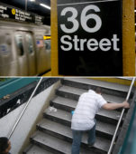 The NYC Subway Stairs that Make Everybody Trip [Video]