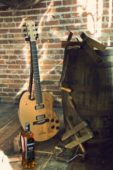 Crafting the 1608: An Electric Guitar Designer by Bon Iver and Built from Whiskey Barrels