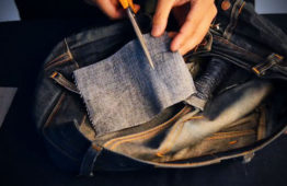 How to: A Quick and Easy DIY Method to Repair Your Own Denim Jeans