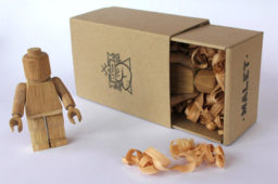 Limited Edition Handmade Wooden LEGO Guys