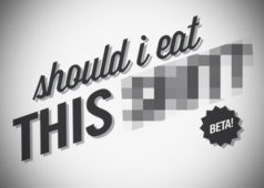 "Make Smart Food Choices with the Clever ""Should I Eat This $#!*"""