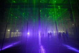 An Incredible Interactive Laser Forest by Marshmallow Laser Feast