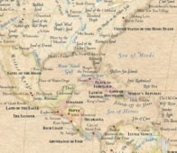 Atlas of True Names: A World Map with Locations Replaced with their Original Meanings
