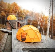 Camping in Style: The North Face Dome Tent