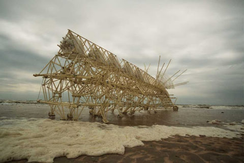 Strandbeests by Theo Jansen [http://www.strandbeest.com/photos.php]