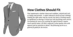 Men's Style: How Clothes Should Fit