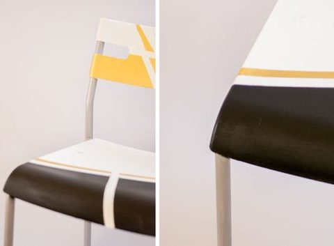DIY Geometric Chair