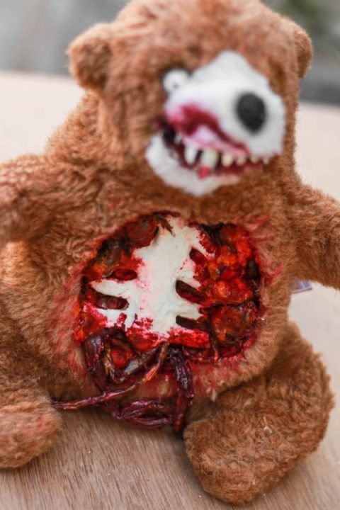 Halloween Teddy DIY