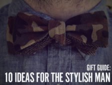 Gift Guide: 10 Holiday Gift Ideas for the Stylish Guy On Your List