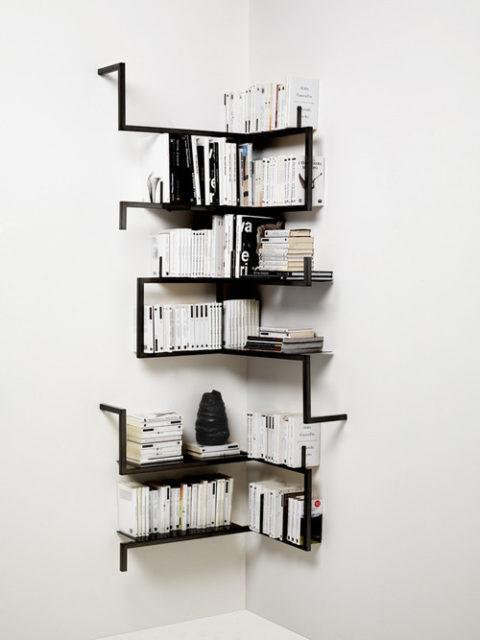 DIY inspiration: minimal shelf
