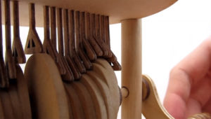 A Mesmerizing Wooden Automation of a Drop of Water