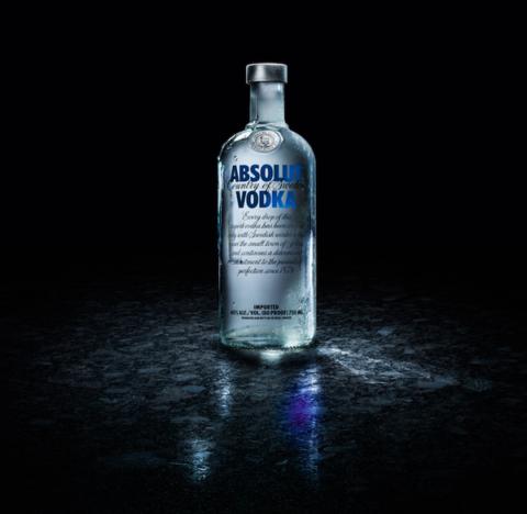 Absolut bottle