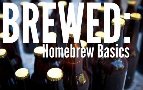 Brewed Homebrewed Beer Logo