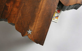 Show Your State Pride With a Custom Coffee Table