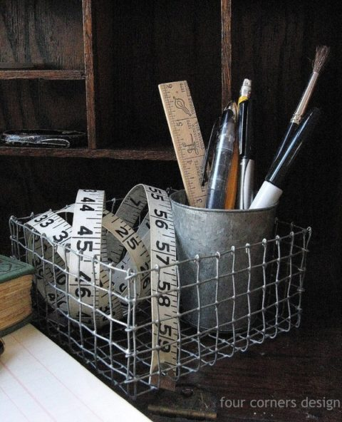DIY industrial basket