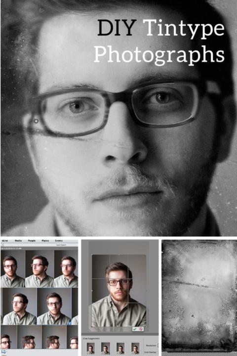 DIY Tintype Photos