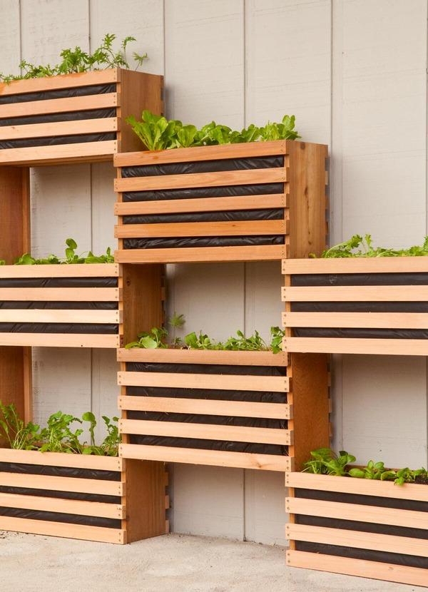 Build A Diy Vertical Vegetable Garden, How To Make A Vertical Garden Planter