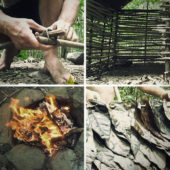 Of Clay and Wattles Made: Building a Primitive Hut from Scratch