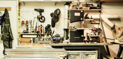 Cluttered Shop