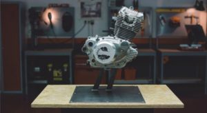 Watch What Happens When You Grind Away a Motorcycle's Engine