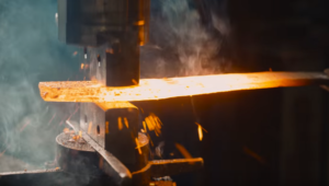 Watch A Damascus Short Sword Forged in Stunning 8K