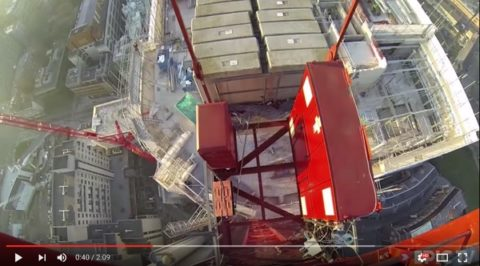 Tower jump video