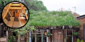 """This 2016 """"Shed of the Year"""" is Made from 90% Recycled Material and It is Amazing"""