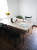 How to: DIY Dining Table for a Crowd from Reclaimed Wood
