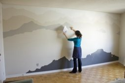 DIY Idea: Large Scale Outdoor-Inspired Wall Art
