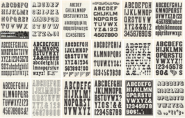Free Download: Dozens of Old Wood Type Alphabets