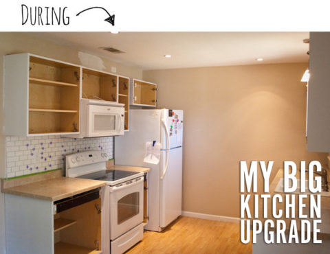 David's kitchen remodel process