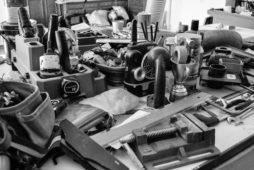 Minimalist DIY: Taking on a 30-Day Workshop Purge
