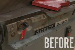 Shop Update: Rehabbing & Fixing Up My New 8″ Delta Jointer