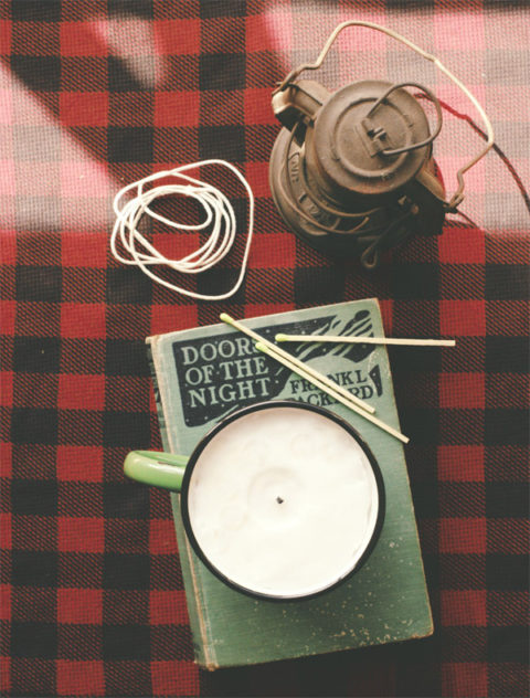 How to make a reusable rustic candle. Photos: Gabriel Cabrera