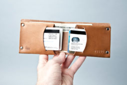 ManMade Recommended: Let's All Check Out the Classic Leather Wallet from Mr. Lentz