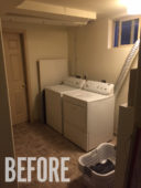 My Total DIY Laundry Room Makeover
