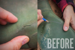 How To: Repair Rubber Boots