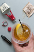 How to Make an Amazing Old Fashioned… On an Airplane
