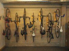 Weekend Project: Make a DIY Reclaimed Wood Wall Bike Hanger