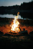 How to: Start a Campfire with One Match