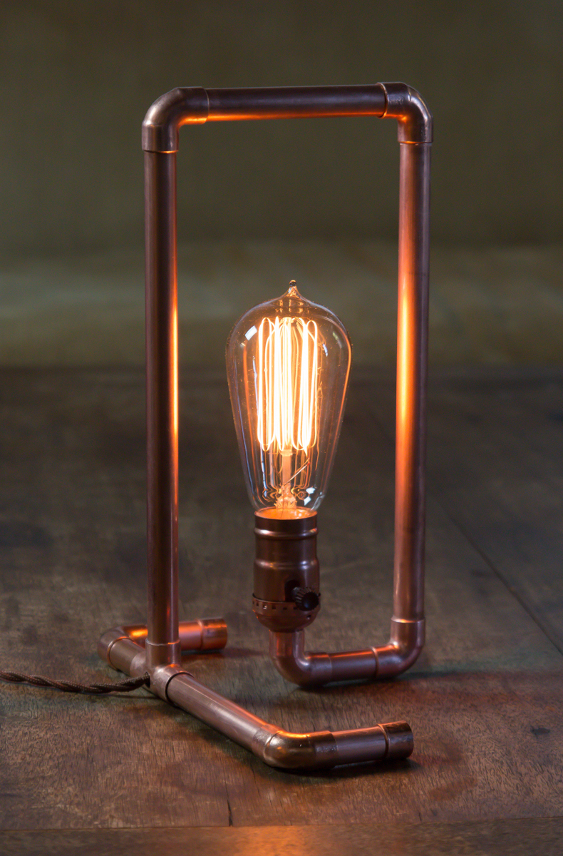Diy Copper Pipe Lamp Manmade Diy