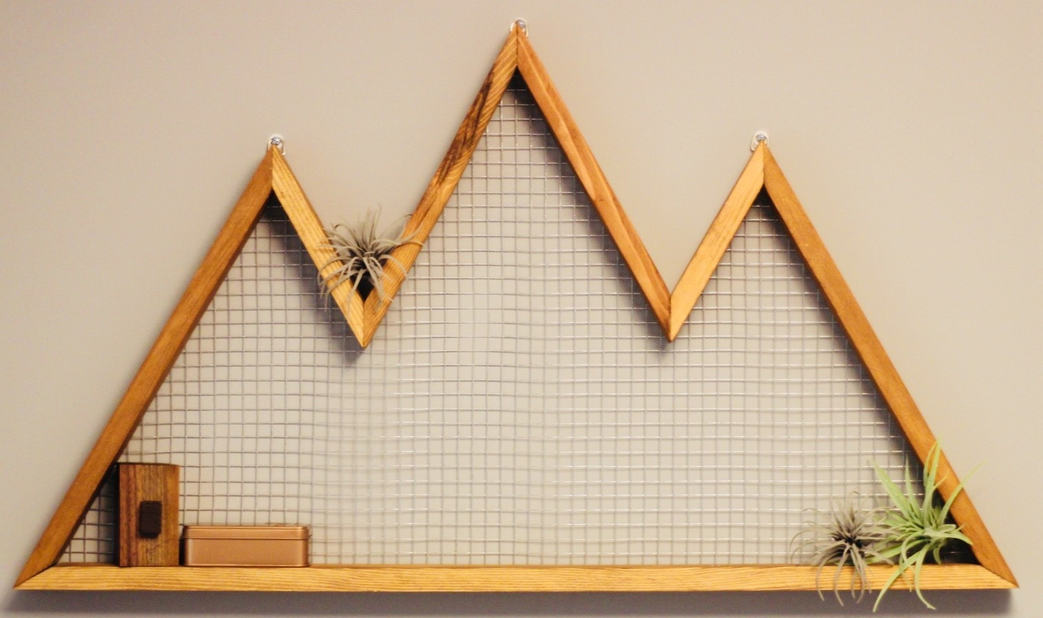 DIY Mountain Wall Art How to Make Your Own from Scrap Wood ...