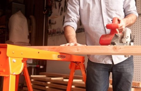 The Best Sawhorses for your garage or woodworking shop