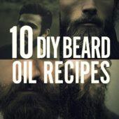 10 Homemade Beard Oil Recipes