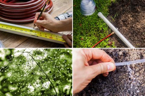 diy inexpensive irrigation system